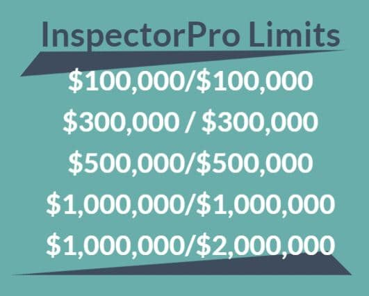 inspectorpro insurance limits