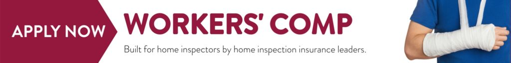 workers' comp for home inspectors