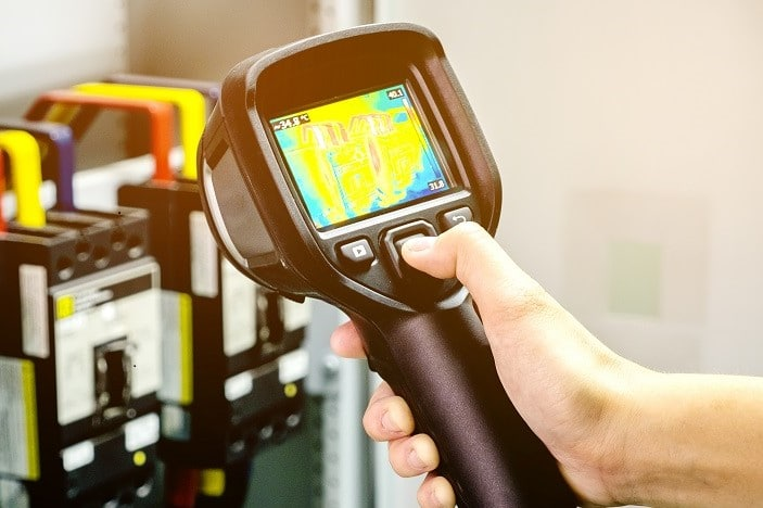 home inspections and infrared technology
