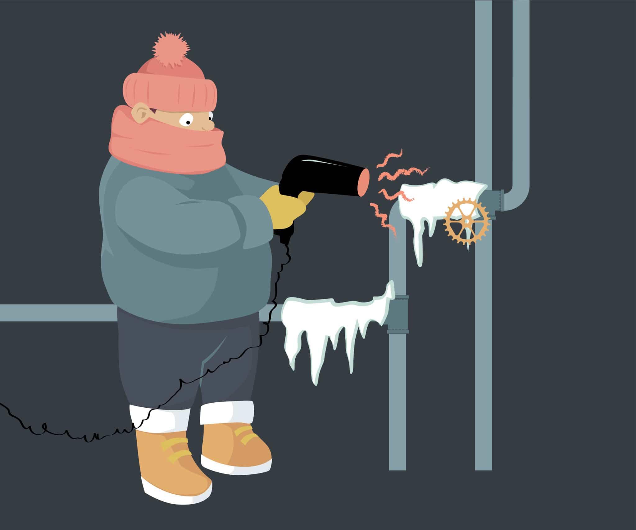 frozen plumbing claims