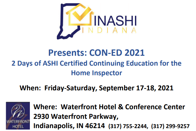 Indiana Chapter of ASHI's CON-ED 2021
