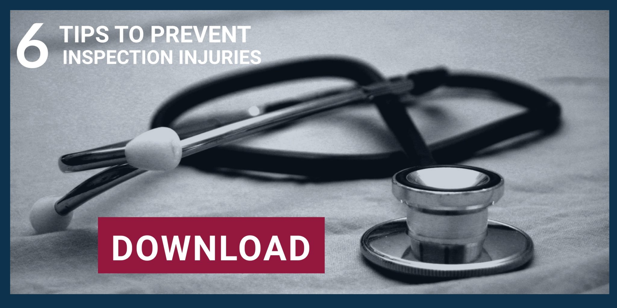preventing injuries for home inspectors