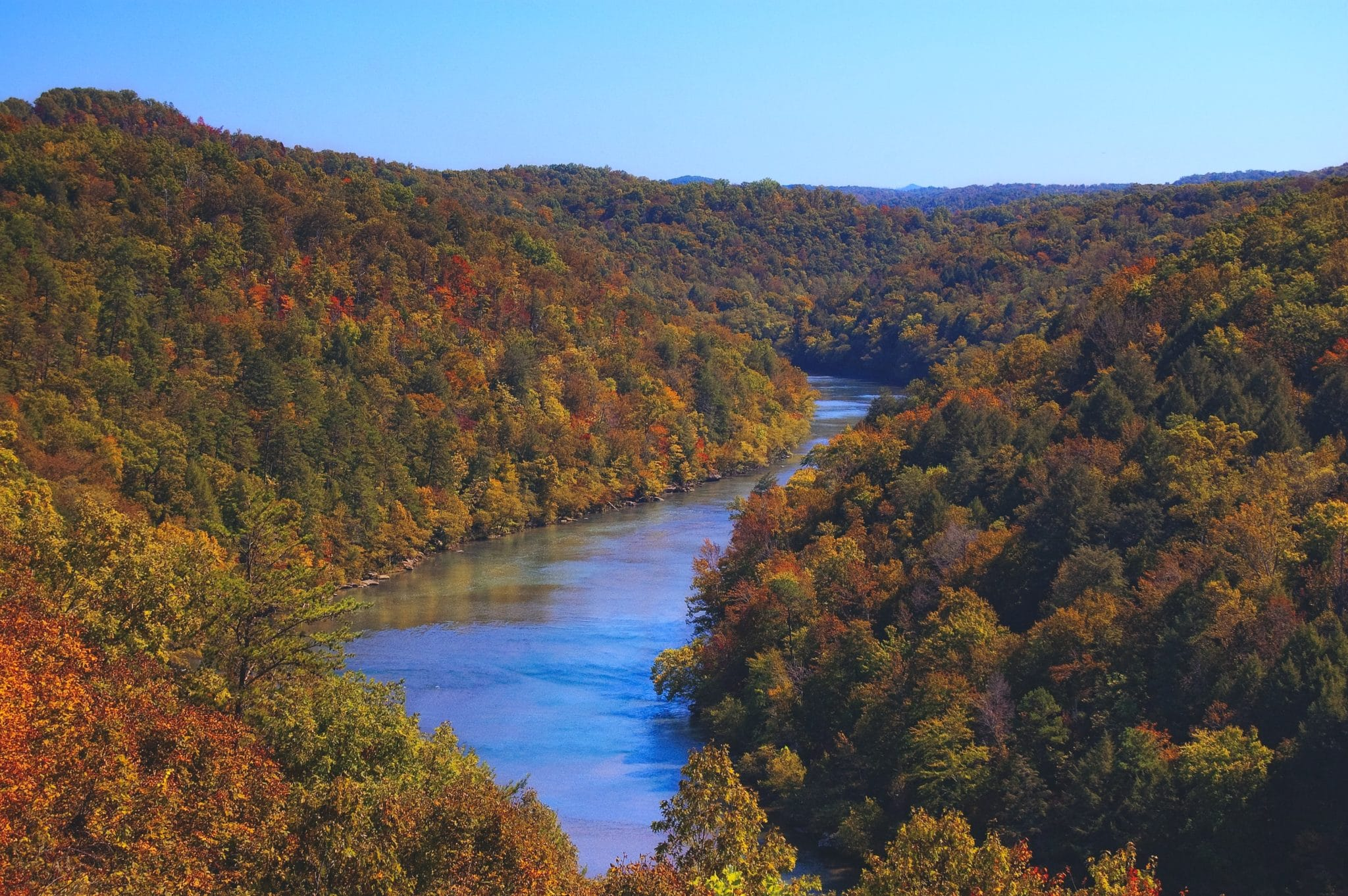 Cumberland River in Kentucky, state where the 2021 KREIA Fall Education Conference will take place